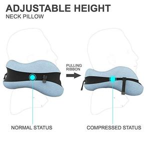 Image 3 - U Shape Travel Pillow for Memory Foam Neck Pillow Travel Accessories Comfortable Pillows for Sleep Home Textile 5 Colors