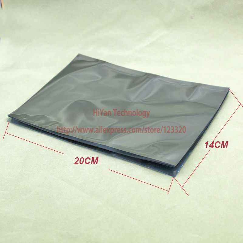 200pcs  Packaging 14x20CM Anti-Static Antistatic ESD Bags Top Open
