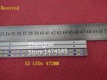 Bebê novo! 2 led peças/lote de tira de led, para 73.42t09. 005 4 sk1 73.42t09. 004 sk1 pro v.6 52 leds 472mm