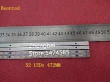Beented חדש! 2 יח\חבילה LED רצועת 42T09 05B עבור 73.42T09. 005 4 SK1 73.42T09. 004 4 SK1 T420HW07 V.6 52 נוריות 472MM