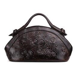 Новое поступление, женские сумки из натуральной кожи с масляным воском, модные сумки через плечо с тиснением, женская сумка, трендовая сумка...