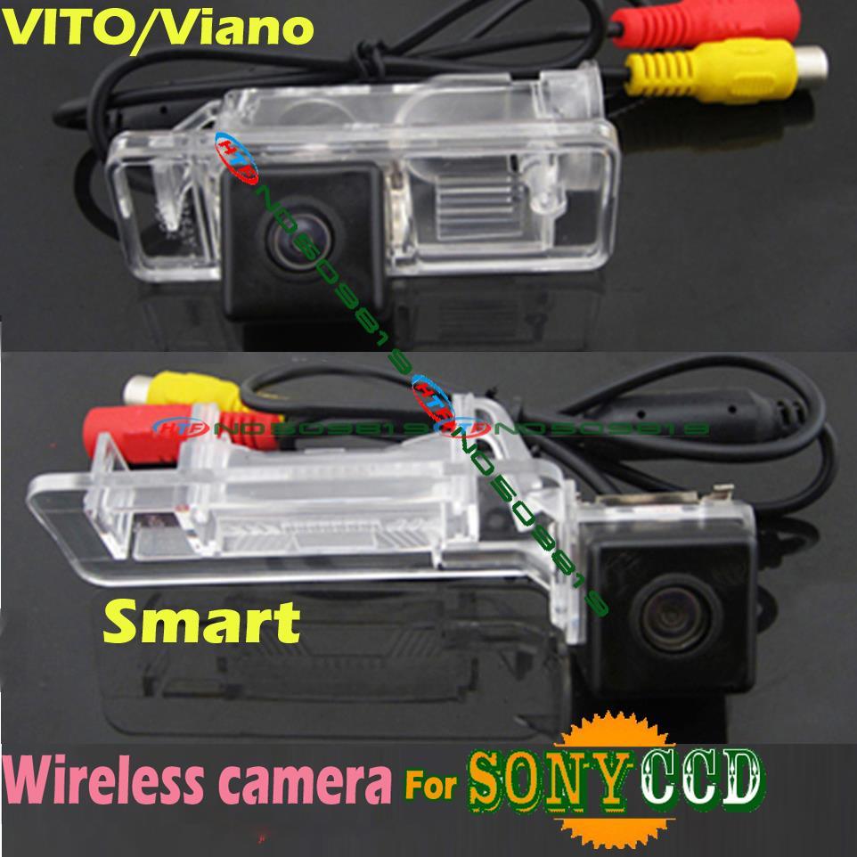 Drahtlose ccd Auto rückfahrkamera für sony HD Mercedes Benz Viano Vito  Sprinter smart wasserdicht weitwinkel df179fb8d5