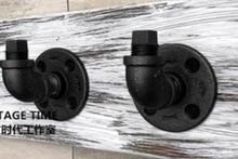 2ピース/セット7 × 5 × 5センチ良質工業スタイルレトロ水パイプフック壁掛けフック
