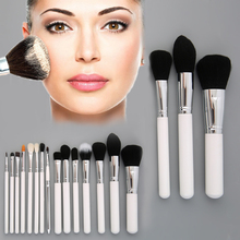 Professional 15 Pieces Cosmetic Makeup Brushes Concealer Powder Brush Set Hot Selling