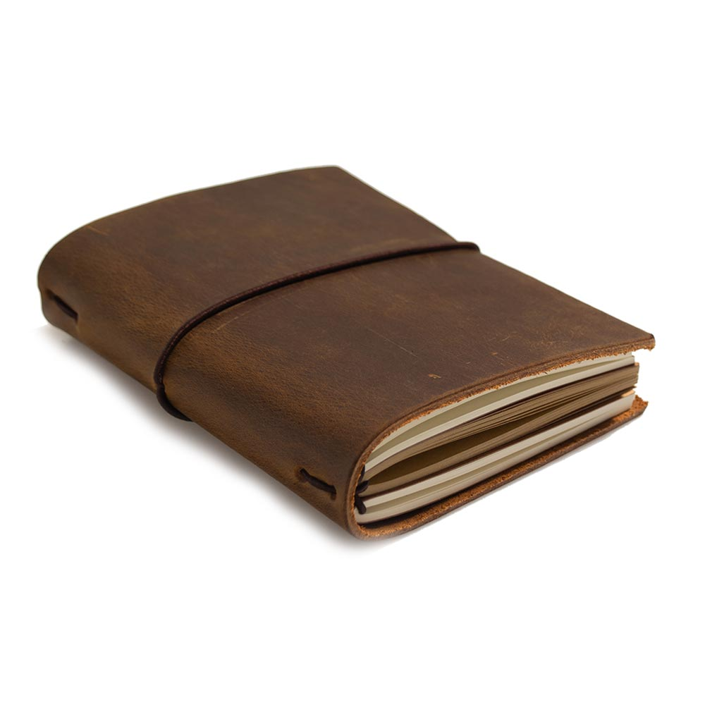 Vintage Refill Journals Diary Leather Midori Notepad Planner Stationery Nootbook Note Books Daily Paper School Supplies