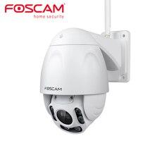 Foscam cámara de seguridad inalámbrica para exteriores Dispositivo de seguridad con Zoom óptico HD 1080P, WiFi, PTZ 4x, con visión nocturna de hasta 196ft