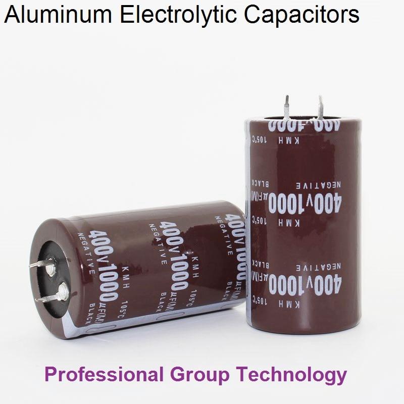 1pcs Good Quality 400v1000uf Radial DIP Aluminum Electrolytic Capacitors 400v 1000uf Tolerance 20% Size 35x60MM 20%