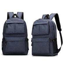 YUNAI New Design USB Charging Function Laptop Backpack Waterproof Oxford Business Travel School Bag Notebook Laptop Racksacks