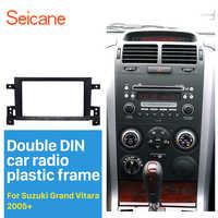Seicane 2Din Autoradio Fascia per 2005 2006 2007 2008-2017 Suzuki Grand Vitara DVD Pannello Dash Kit di Installazione telaio Trim Lunetta