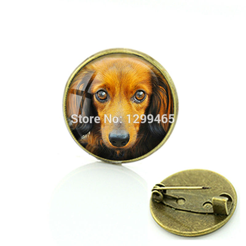 2017 Brooches For Hot Sale Amazing Fashion Alloy Jewelry Dog Picture Brooch Supernatural Personalized Gift For Pet Lover C 725