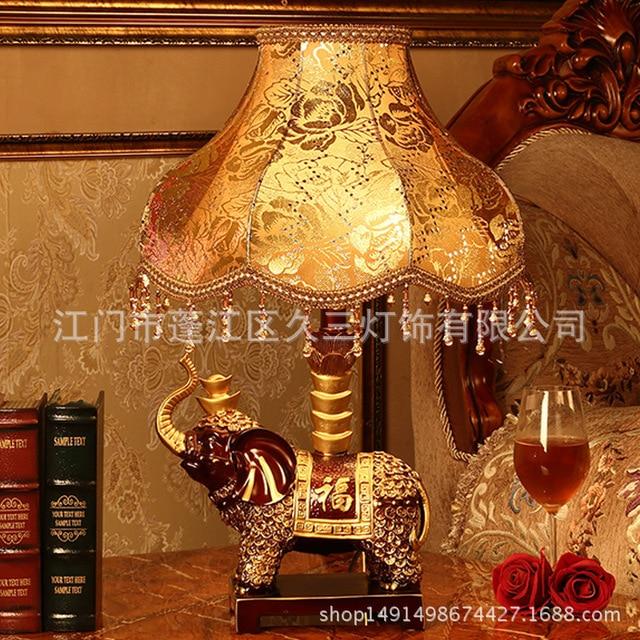 TUDA Elephant Mascot Table Lamp Home Decoration Villa Desktop In LED Lamps From Lights Lighting On Aliexpress