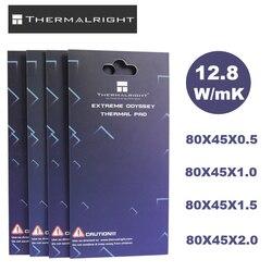 Thermalright Thermische pad 85X45 12,8 W/mK 0,5mm 1,0mm 1,5mm 2,0mm Hohe Effiziente wärmeleitfähigkeit Original authentischen