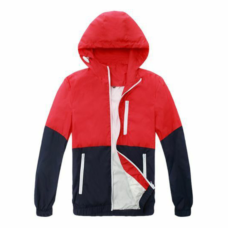 HTB1Fj0OX0fvK1RjSspoq6zfNpXa4 FGKKS Men Jacket Windbreake Autumn Men's Fashion Jacket Hooded Casual Male Coat Thin Men's Jackets Sunscreen