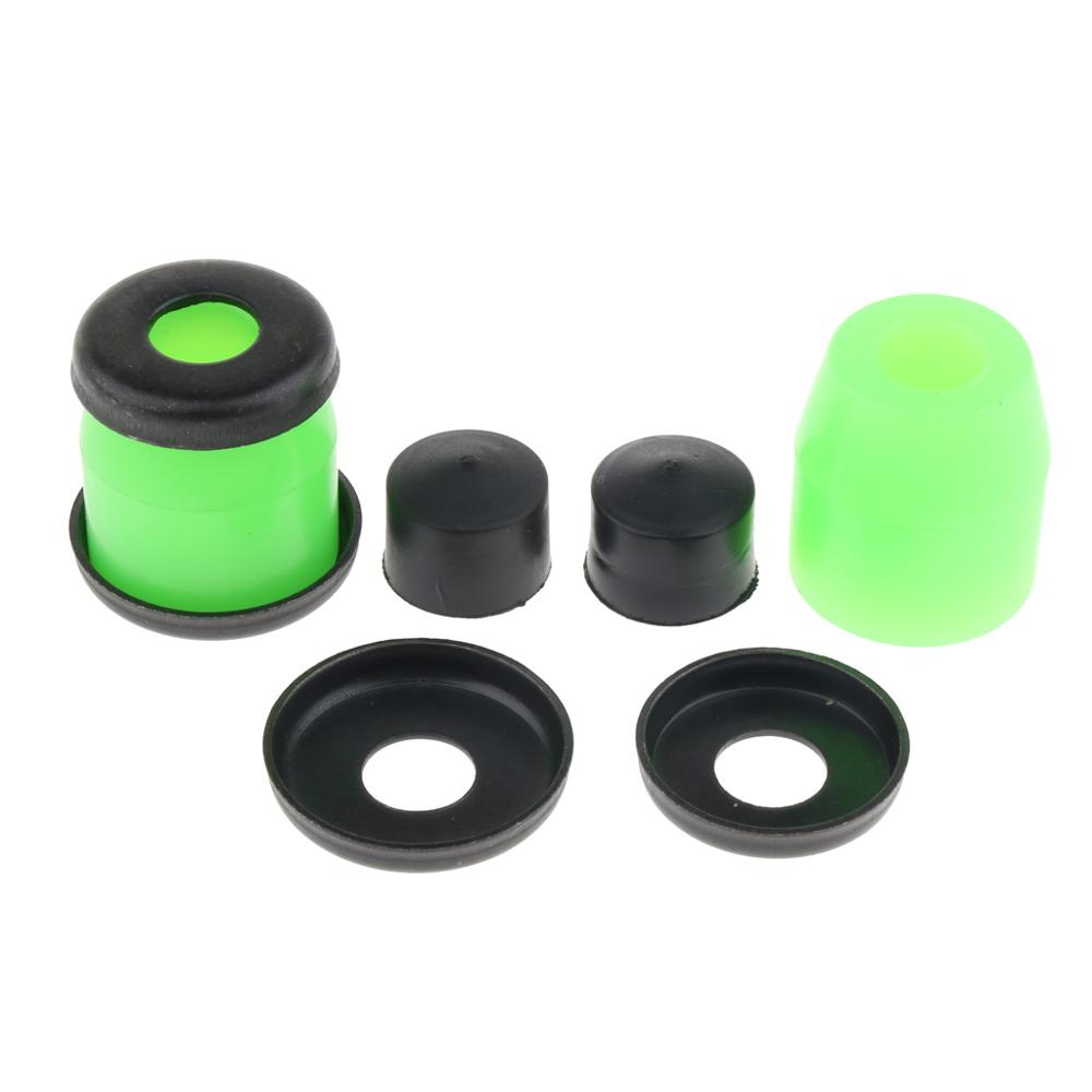 Replacement Skateboard Bushings PU Conical Cylinder Truck Bushing Washers Skateboard Rebuild Kit Truck Bushings Set