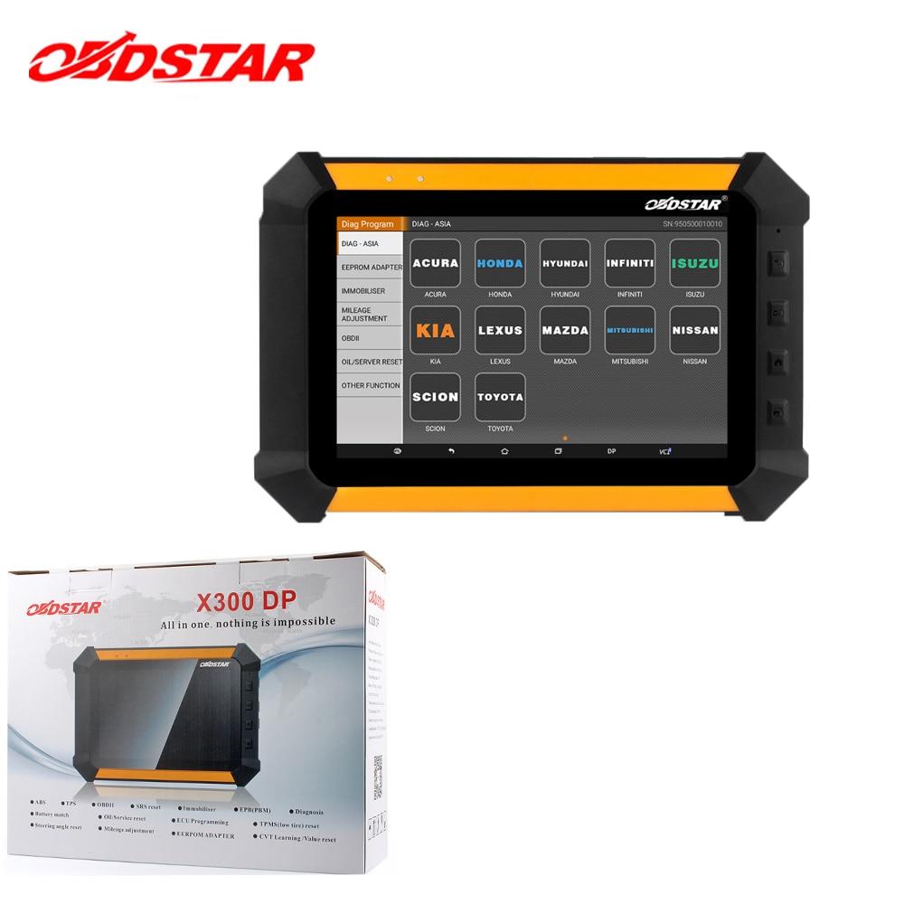 Automotive scanner obdstar x300 dp pro3 plus odometer change tool hand held car key copy key programmer immobiliser for car