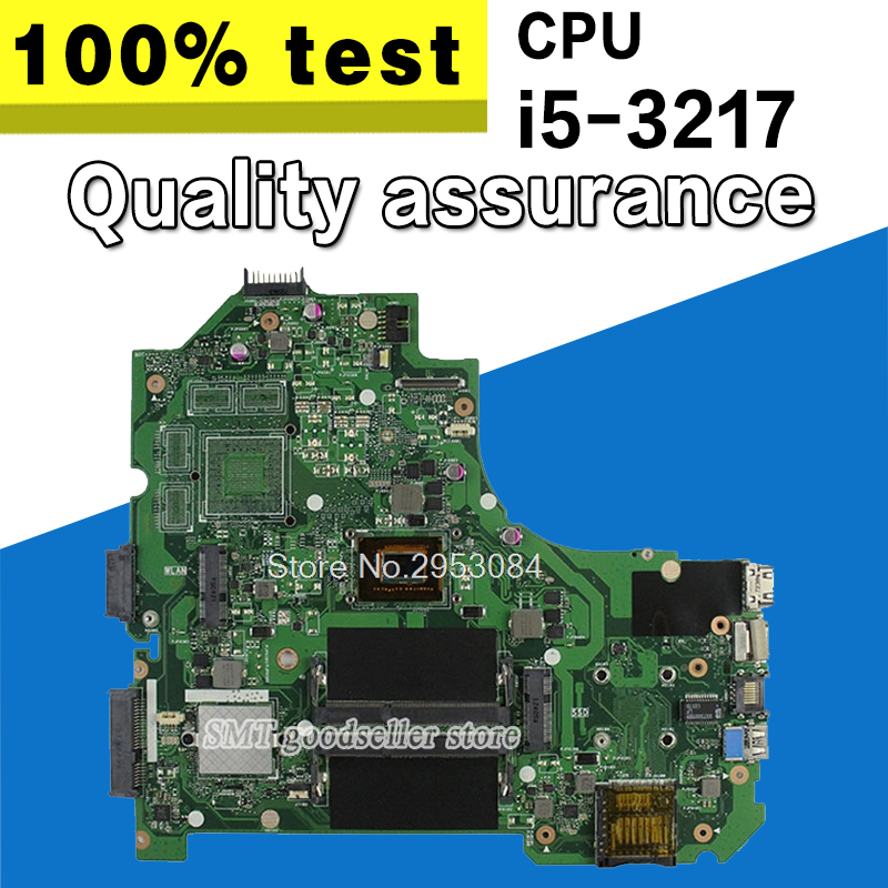 For ASUS S550CA Laptop Motherboard K56CM rev 2.0 with i5-3217 cpu GM Integrated HD Graphics 4000 Mainboard tested S-4
