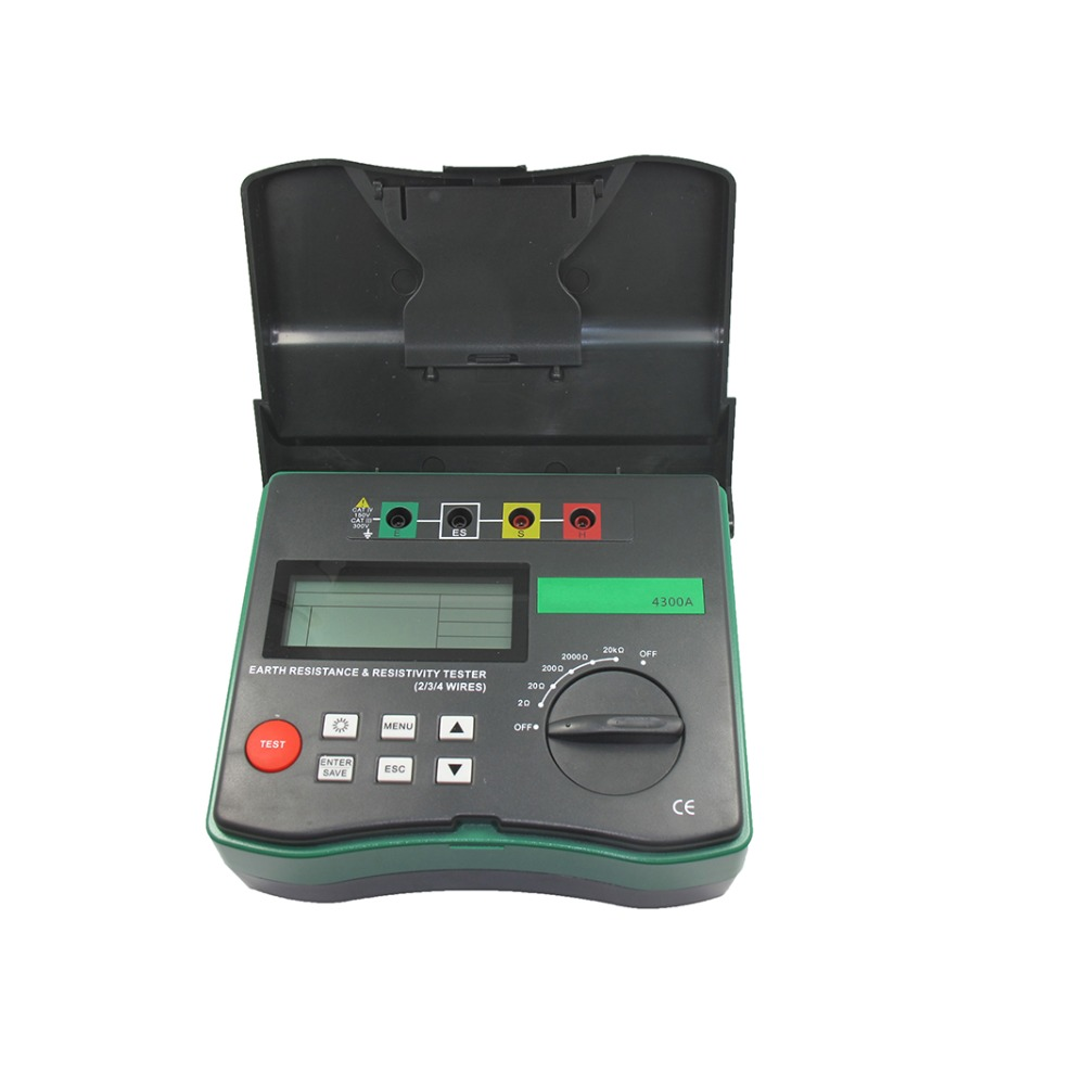 BTMETER BT 4300A 4 Pole earth resistance and soil resistivity tester