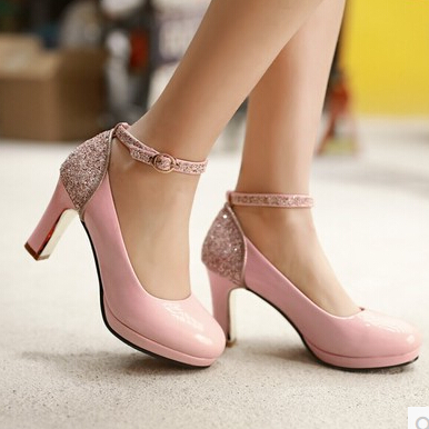 Online Buy Wholesale light pink pumps from China light pink pumps