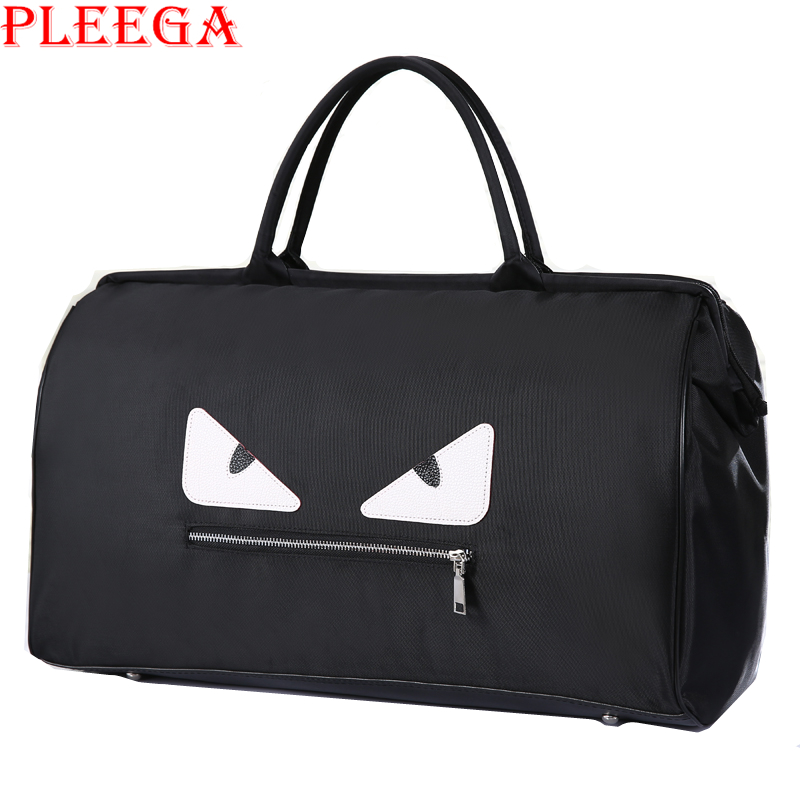 PLEEGA Little Monster Women Messenger Bag Fashion Ladies High Capacity Cartoon Shoulder Bag Travel Organizer Movement
