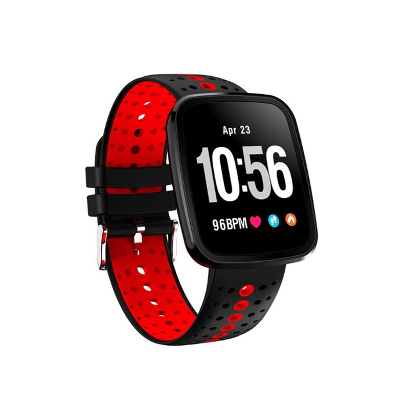 V6 Smart Wristband High-definition Screen Heart Rate Monitor Fitness tracker Weather Forecast Blood Oxygen Pressur Smart Band