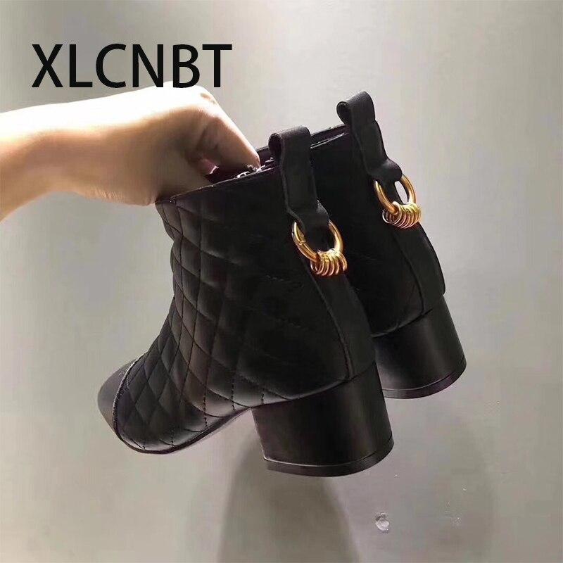 Talon En Chaussures Chaud Bottes Vache Qualité Carré Dames Au Pointu Black Boot Haute Hauts D'hiver black2 Sexy Cuir Talons De Femmes Xnq8x7nY