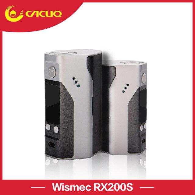 Оригинальный Wismec Reuleaux RX200S Батарейный мод 200W TC бокс мод на 3 батареи контроль температуры электронной сигареты
