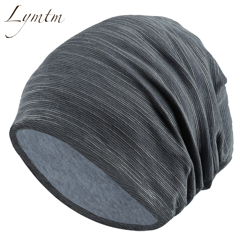 f8ab272d96a 2018 Autumn Soft Thin Solid Slouchy Beanies Hip hop Casual Cap Turban  Bonnet Beanie Knitted Hats for Women and Man-in Skullies   Beanies from  Apparel ...