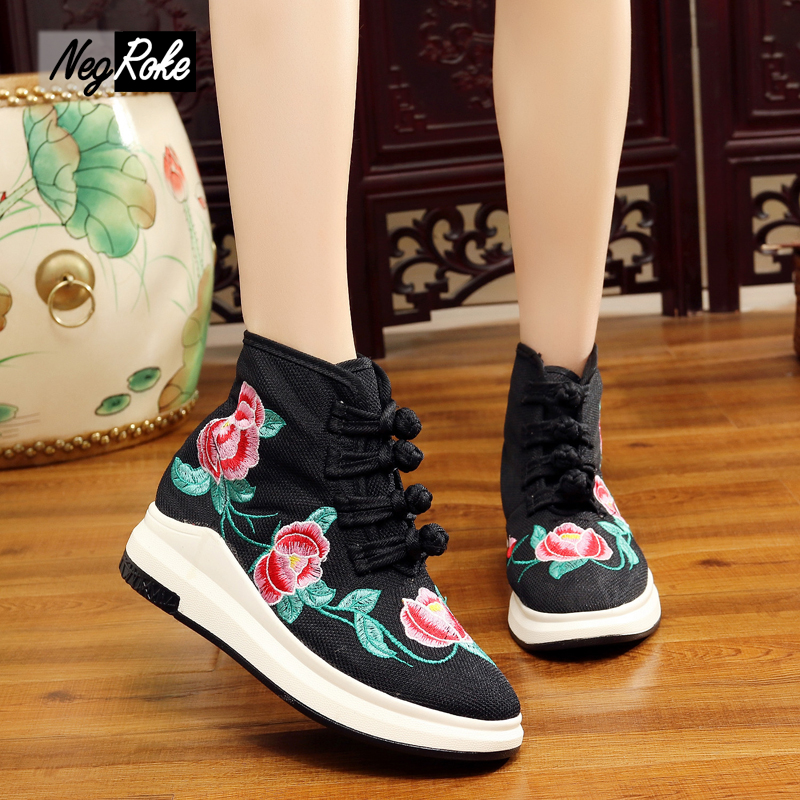 Light Chinese embroidery shoes woman casual ladies flats shoes zapatos mujer superstar slip on shoes for women sapato feminino all purpose used lucite waterfall acrylic plexiglass magazine tea table perspex vanity stools with book rack