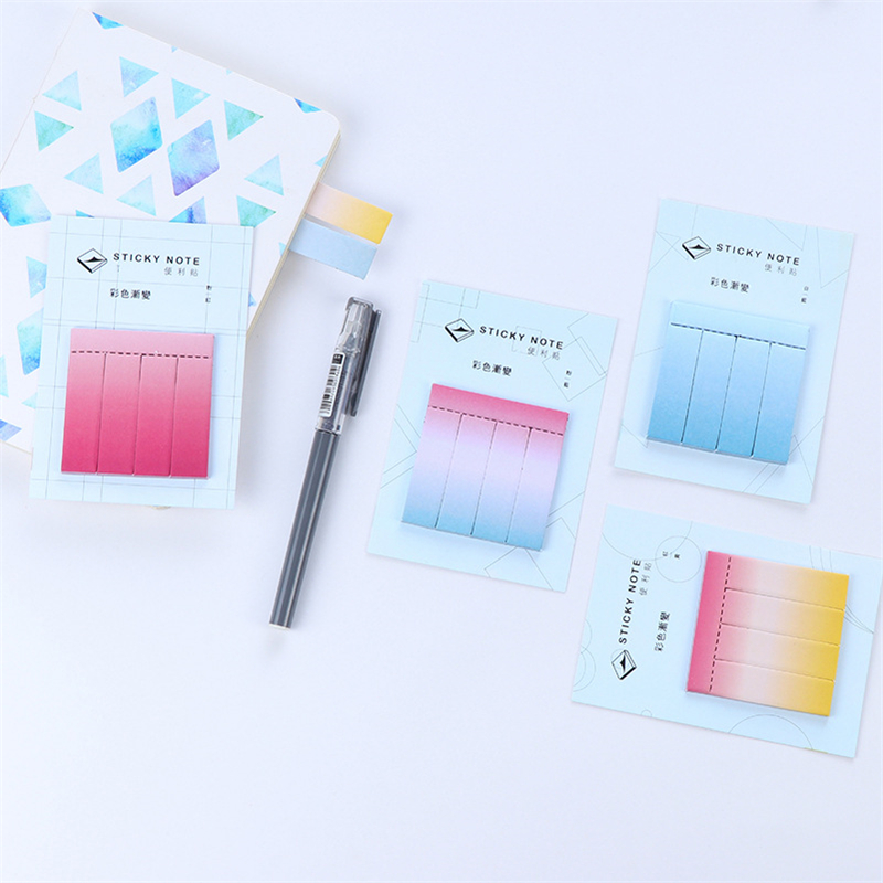 DL Korean cute note cartoon color gradient convenience sticker and post sticker N