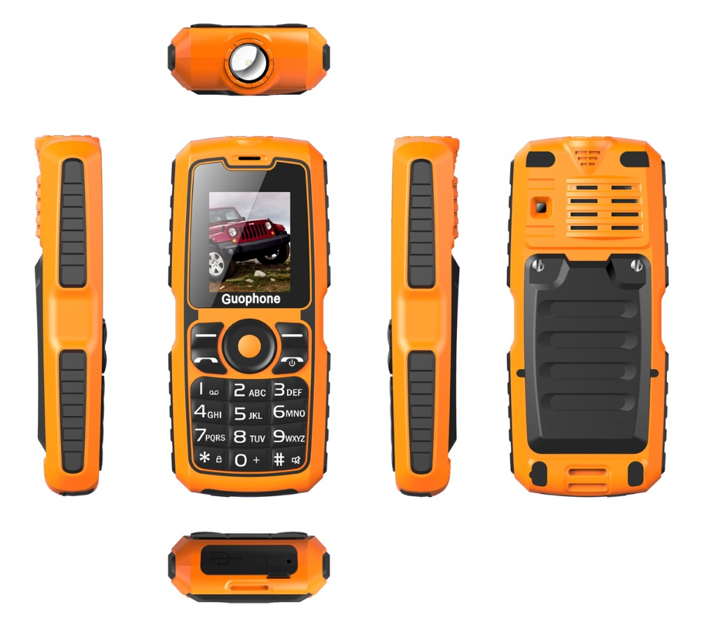 Original V3S IP67 Waterproof shockproof Dual SIM Card mobile phone 4000mAh battery FM flashlight can Russian