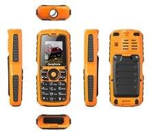Оригинал V3S IP67 Водонепроницаемый противоударный Dual SIM Карты мобильного телефона 4000 мАч батареи FM фонарик может Русская клавиатура сотового телефона