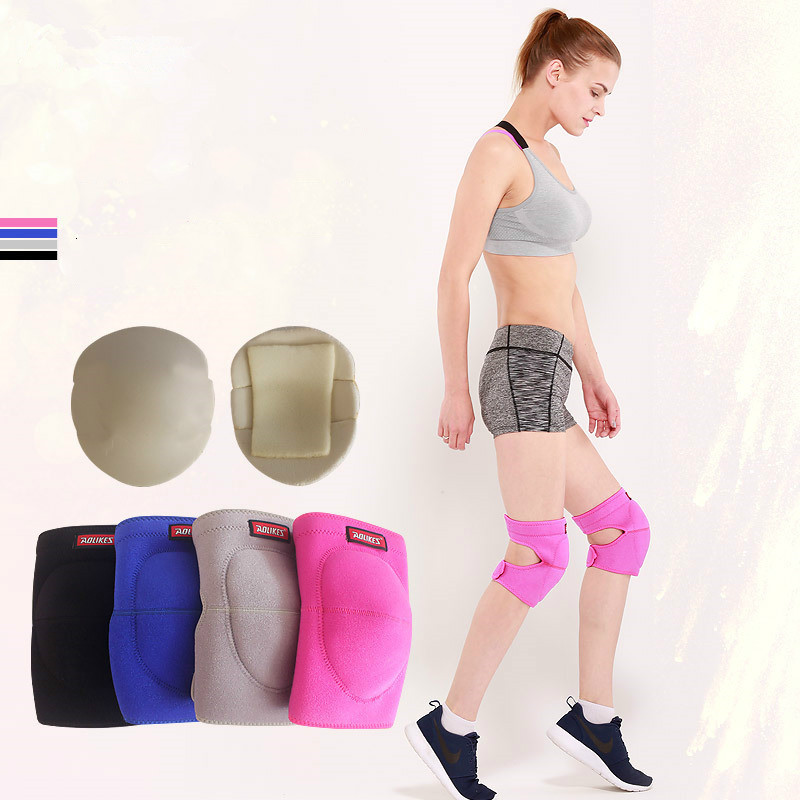 2018 New 1pcs Fitness Running Cycling Knee Support Professional Protective Sports Knee Pad Breathable Bandage Q in Elbow Knee Pads from Sports Entertainment