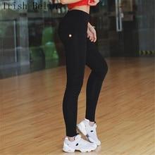 leggings women 2018 Paige Front zipper Mosaic Peach rump High elasticity pants fitness legging pantalon femme leggins
