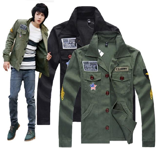 New military green suits for men summer jacket men outdoor