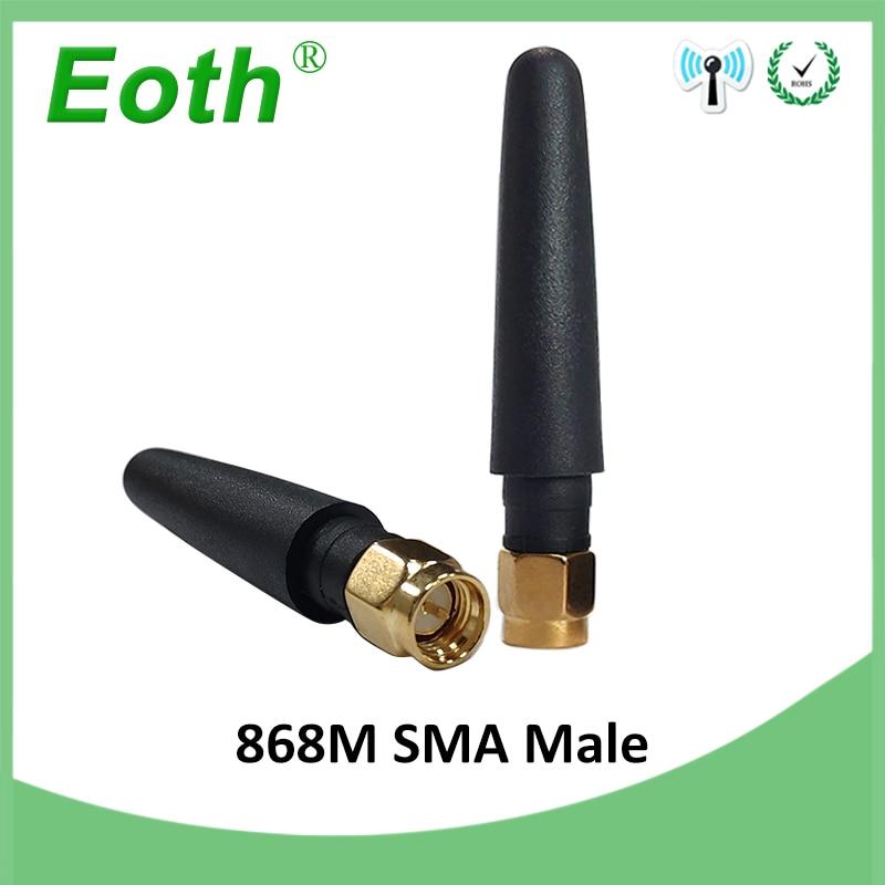 1pcs GSM 868MHz 915MHz Antenna 3bdi SMA Male Connector GSM Antena 868 MHz 915 MHz Antenne White Small Size Antennas For Lorawan