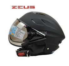 Venta caliente casco zeus zs125b casco de la motocicleta medio casco cascos de motocicleta casco de la motocicleta cascos de moto tamaño libre