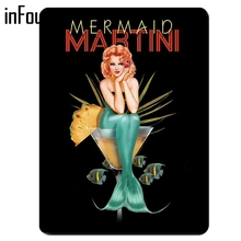 Hot Girl Martini Poster Cafe decoración de pared para Bar cartel de Metal vintage decoración del hogar hojalata placa metálica retro placa de Metal Tablet clásica