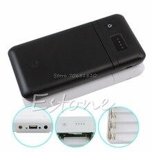 USB 6×18650 Зарядное Устройство Box Настроить 5 В 2A 9 В 12 В Мобильный Банк Питания # R179T # Груза падения