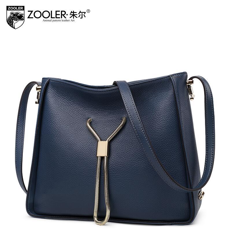 free delivery  Genuine Leather  Women bag  2017 new temperament handbag Shoulder Messenger Bag