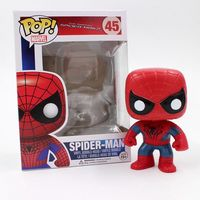 Funko pop Official The Avengers Spider Man Collectible Vinyl Figure SpiderMan Spring Head Model Toy with Original box