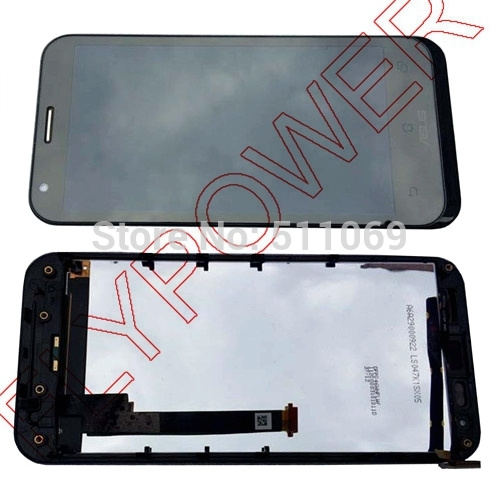 ФОТО For ASUS PadFone 2 II A68 LCD Screen Display with Touch Screen Digitizer Assembly+frame free shipping;HQ;Black; 100% warranty