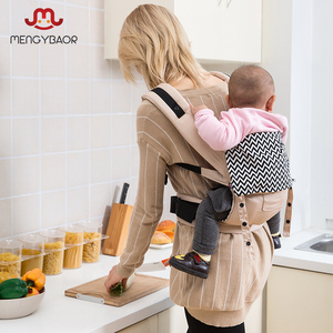 Image 4 - Drop shopping Real Canguru Baby Wraps  Ergonomic Baby Carriers Backpacks Sling Wrap Cotton Infant Newborn Carrying Belt For Mom