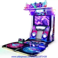 Amusement Equipment Token Coin Operated Simulator Games Music Dance Arcade Game Machine For Teenagers And Adult