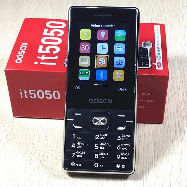 It5050 dual SIM dual standby mobiele telefoon 2.8 inch scherm mobiele telefoon Russische toetsenbord telefoon odscn it5050