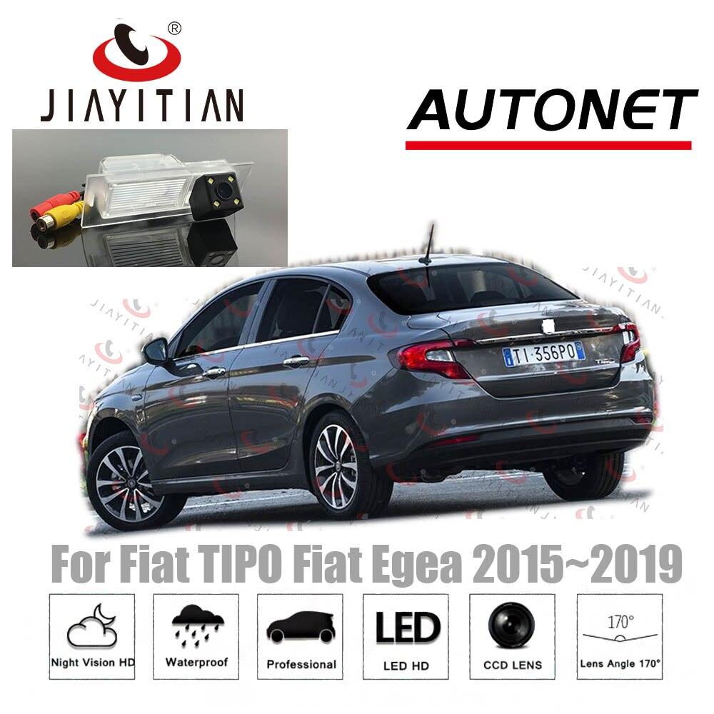 JIAYITIAN Rear Camera For Fiat Tipo 2015 2016 2017 2018 2019 CCD Night Vision Reverse Camera license plate camera backup camera