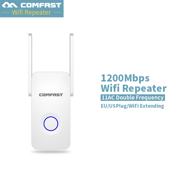 1200Mbps WIFI Repeater Dual band 5G Wireless Home WIFI Repeater bridge signal booster Amplifier Antenna wi fi access point wifi booster 2 4ghz 2w 33dbm repeater 2 4g wifi wireless amplifier 2 4g signal wifi repeater wifi booster