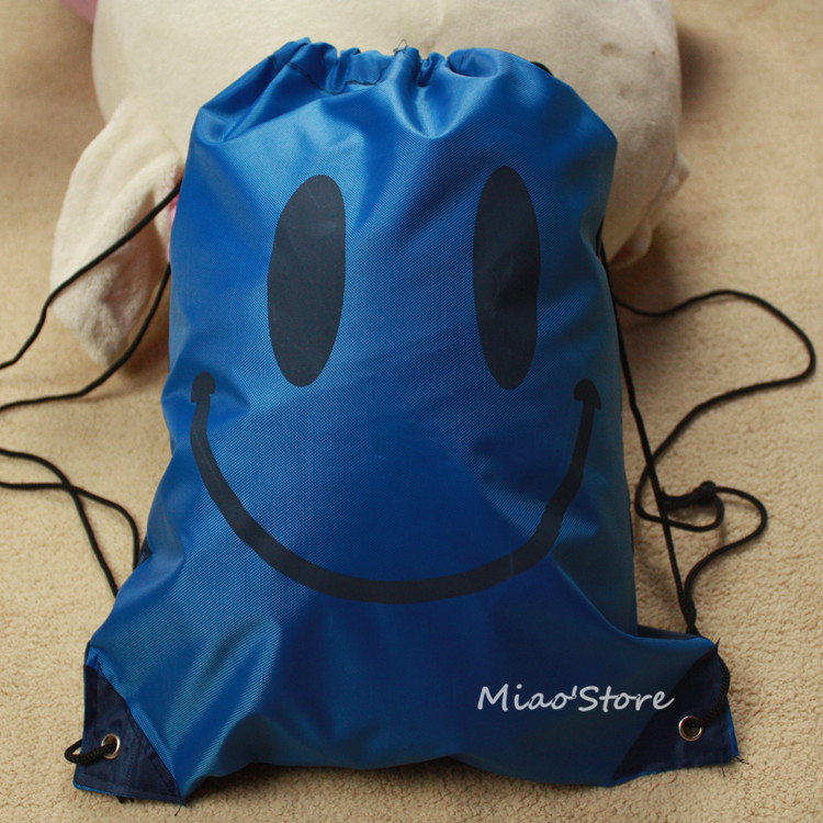Drawstring Beach Bag Gym Waterproof Backpack Dance Duffl