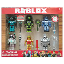 4-6pcs/set New Cartoon PVC Roblox Game Figma Oyuncak Amine Mermaid Action Figure Toys Kids Collection Ornaments Gift For Kid's(China)