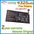 Nueva batería c11-me370t google genuino para asus google nexus 7 1st 2nd tableta de la batería 4325 mah 3.75 v