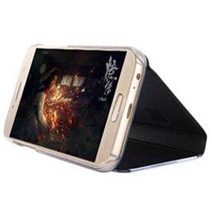 Image 4 - Flip כיסוי מראה טלפון מקרה לסמסונג גלקסי S9 בתוספת S8 S7 קצה S6 הערה 8 5 מקסימום A8 2018 j7 J5 J3 2017 האיחוד האירופי A5 A3 A7 J730 Note8